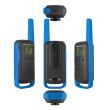 Motorola TALKABOUT T62 PMR446, Blue Twin Pack WE - pohledy na vysílačku ze všech stran