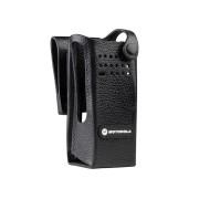 PMLN6096 Pouzdro z tvrdé kůže pro radiostanice Motorola DP4401 Ex