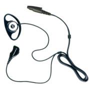 PMLN5002 Sluchátko D-shell na ucho, samostatný mikrofon s PTT