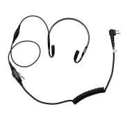 PMLN6541 Temenní audio souprava pro vysílačky Motorola DP1400 a další
