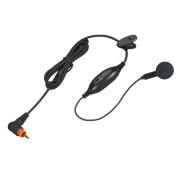 PMLN7156 Sluchátko do ucha, mikrofon s PTT