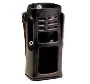 HLN9689 Kožené pouzdro na opasek pro radiostanice Motorola
