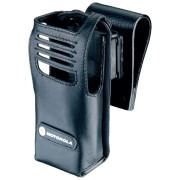 PMLN5025 Pouzdro z jemné kůže pro radiostanice Motorola DP340x