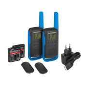 Motorola TALKABOUT T62 PMR446, Blue Twin Pack WE - obsah setu vysílaček