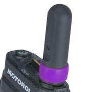 32012144005 Rozlišovací kroužek na anténu - fialový na radiostanici Motorola SL1600