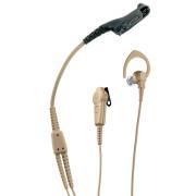 RLN5881 Sluchátko do ucha, mikrofon s PTT, béžové pro Motorola DP