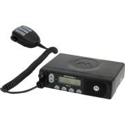 Motorola CM160 VHF - vozidlová profesionální radiostanice (vysílačka) s ručním tlačítkovým mikrofonem