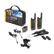 Motorola TALKABOUT T82 Extreme PMR446, Twin Pack - hobby vysílačky - celý set
