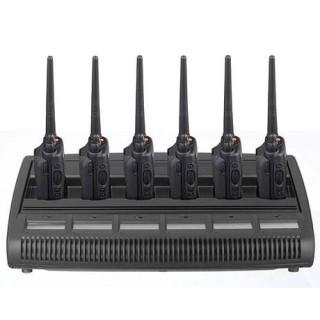 WPLN4194 Stolní 6 pozicový displejový inteligentní nabíječ IMPRES