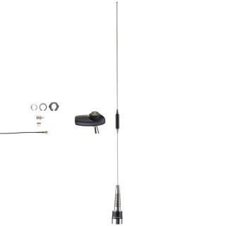 PMAE4036 Anténa prutová kombinovaná GPS/UHF 403-430MHz, 3.5db zisk
