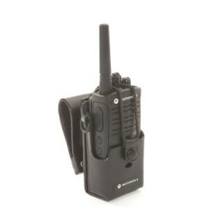 RLN6302 Kožené pouzdro na opasek pro PMR vysílačky Motorola XTNi a XTNiD