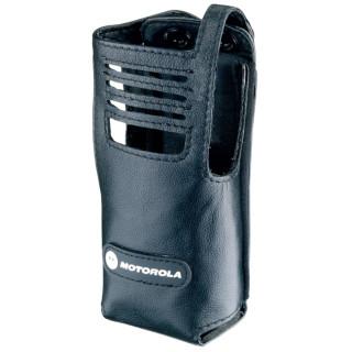 PMLN5027 Pouzdro z jemné kůže pro radiostanice Motorola DP340x