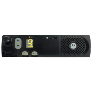 Radiostanice Motorola CM340 VHF MDM50KNC9AN2 - čelní pohled