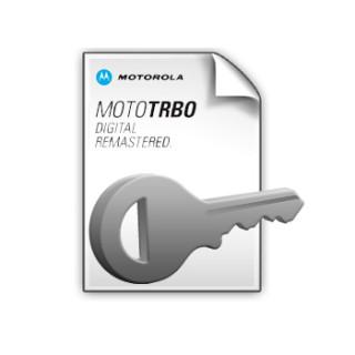 HKVN4204 SW klíč - DP1000 upgrade digital MOTOTRBO™ licence