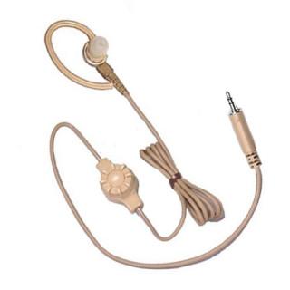 BDN6666 Sluchátko do ucha s regulací hlasitosti pro vysílačky Motorola