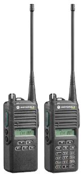Motorola P165 a P185 - nové přenosné radiostanice (vysílačky)